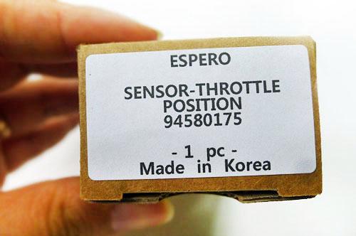 94580175 SENSOR-THROTTLE POSITION