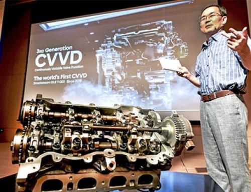 CVVD New Engine technology developed by Hyundai